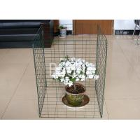 Best Green Plastic Metal Wire Compost Container 450 Liter Easily Install 690X890mm wholesale