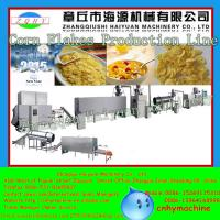 Quality Shandong 200-250kg/h Cooked Corn Flakes Machine for sale