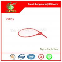 Best 450x4.8mm Bale Tie Wire Self Locking Nylon 66 Cable Zip Ties 250PC/BAG wholesale