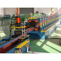 Quality Stainless Steel Shelf Storage Cabinet Shelving Rack Rollforming Production Line for sale