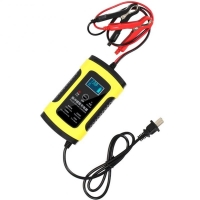 Quality Motorcycle  12V 6A Fully Intelligent Pulse Repair Charger LCD Display For for sale