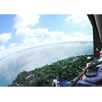 Quality 360 Degree Vision Flying Cinema Experience With 72 Electric Motion Seats for sale