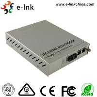 Quality Managed Gigabit Ethernet Fiber Media Converter 2- Port 10 / 100 / 1000Base-T to 1000 Base-X for sale