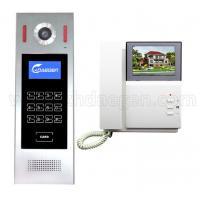 Quality 4.3 inch Color LCD Monitor New Multi Apartment Building Video Door Phone Door Bell Intercom Door Entry System for sale