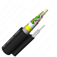 Buy cheap GYFTC8A Self Supporting Armored Optical Fiber Cable 24F Adss from wholesalers