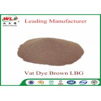Quality Synthetic Textile Reactive Dyes Vat Brown Lbg Textile Dyes And Chemicals for sale