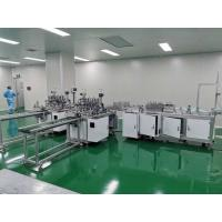Buy cheap Disposable Nonwoven Face Mask Making Machine 3 Ply Mask Production Machine from wholesalers