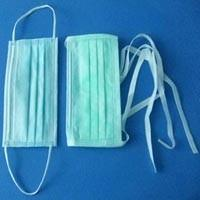 Quality Earloop 3 Ply Surgical Disposable Mask High Filtration Efficiency 98% - 99.9% for sale