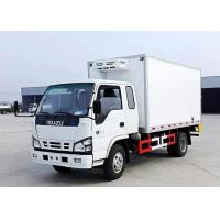 China 3-5 Tons ISUZU 4×2 Refrigerated Van Truck , Freezer Box Vehicle For Meat / Fish on sale