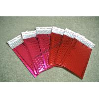 Lightweight Coral Metallic Bubble Mailers 215x330mm #F VMPET Flame Retardant