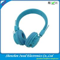 Best 2014 hot sale promotion electronic product fashionable bluetooth headphone with TF card and FM radio wholesale