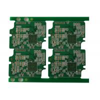 Buy cheap 10 Layer FR4 PCB Board Fabrication , 3mil Line Space Width High TG PCB from wholesalers