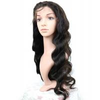 Brazilian Human Hair Lace Front Wigs Body Wave Full 150% Density for sale