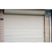 Quality Safety Up Overhead Garage Doors , Manual Handling White Color for sale
