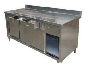 Quality Stainless Steel Clean Room Bench Workbench Anti Static Worktable for sale