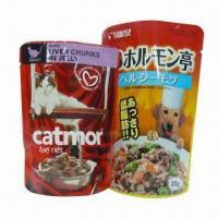 Quality Retort Pouches for Pet Food, Easy Sealing on Different Vacuum Packer, Made of PET for sale