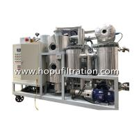Quality HOPU Cooking Oil Purifier, virgin coconut oil, vegetable oil, Palm Oil Decolorization Machine,press impurity factory for sale