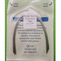 Quality Orthodontic NiTi  Archwires -Thermal Active Ovoid 0.016 * 0.022 Upper Lower for sale