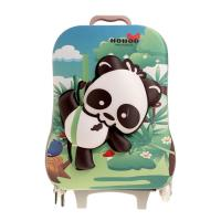 Quality Green Durable Kids Hard Shell Luggage For 4~10 Years Customized Logo for sale
