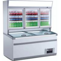 China Double - Temperature Supermarket Display Refrigerator Vertical Combined Freezer on sale