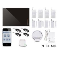 Buy Security Home System WiFi/GPRS+GSM Home Alarm DIY Wireless GSM Alarms at wholesale prices