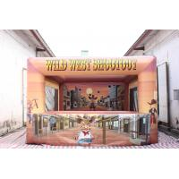 Quality Commercial Inflatable Wild West Shootout Games for sale
