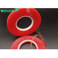 China High Heat Double Sided Tape Reusable Feature Removable Type Red Liner on sale