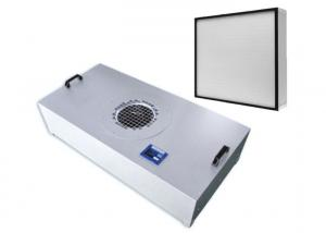 Quality Clean Room Ceiling HEPA Filter Fan Unit 99.99% High Efficiency 0.3 Micro for sale