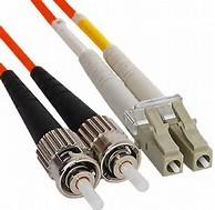 Best Duplex Fiber Jumper ST to LC Multimode Fiber Optic Patch Cord in Riser PVC Jakcet wholesale
