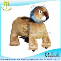Hanselthe latest battery operated amusement park kids electric ride on toy car animal joy ride