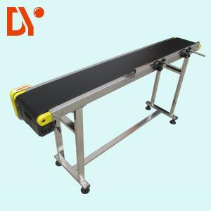 DY153 Heat Resistant Troughed Belt Conveyor , Customized Simple Conveyor System