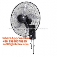 Quality 18 inch electric plastic wall fan by pull string for office and home appliances /Ventilador de pared for sale