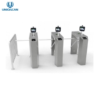 Quality IP54 Facial Recognition Access Control Turnstile Stainless Steel for sale