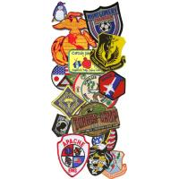 Quality good design embroidery patch for sale