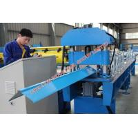 Quality Corrugated Metal Roofing Ridge Cap Roll Forming Machinery 5.5KW for sale