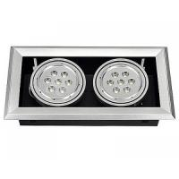 Quality High efficiency IP54 14W LED Recessed Ceiling Light Fixtures 950lm CE, FCC, ROHS for sale