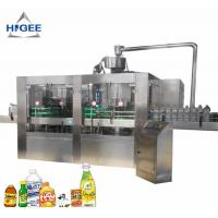 Quality Automatic Carbonated Beverage Filling Machine / Liquid Filling Machine For PET Bottle for sale