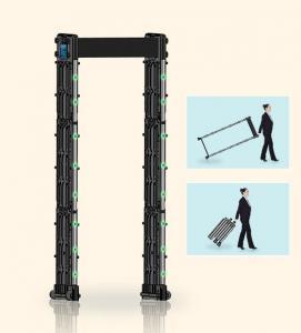 Buy cheap Self Diagnostic Portable Metal Detector IP65 Security Waterproof Door Frame 12W from wholesalers