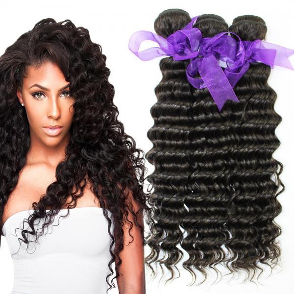 Buy Peruvian Deep Wave HairBundles No Shedding , Peruvian Hair Deep Body Wave at wholesale prices