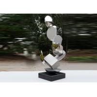 Quality Modern Stainless Steel Sculpture Highly Polished For Pool Decoration for sale