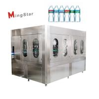 Quality Plastic 500Ml Pet Bottle Filling Machine Auto Bottled Drinking Water Plant for sale