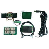Quality magnetic rail Rf Reader Module , Uhf Reader Module with LED indicators for sale