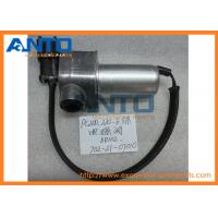 PC120-6 Komatsu Excavator Parts 702-21-07010 24V DC Solenoid Valve For Main Pump