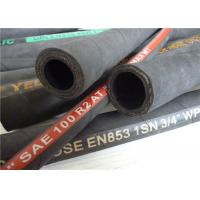 China High Pressure Flexible Rubber Hose With Hose Fitting On Both End  on sale