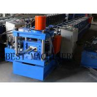Buy cheap Galvanizned Steel Euro Style Roller Shutter Door Frame Roll Forming Machine 0.8 from wholesalers