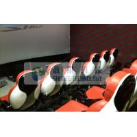 Quality Realistic 6D Cinema System With Seperate Platform And Cinema Special Effects for sale