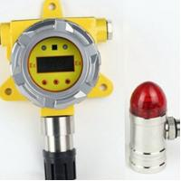 China Fixed ethylene gas detector with replaceable sensor and remote control,online monitor on sale