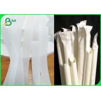 Quality 100% Biodegradable Non Ink 24g Wrapping Paper For Drinking Straws for sale