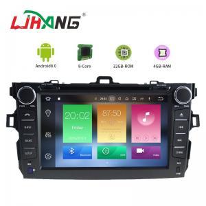 Quality Steering Wheel Control Toyota Corolla Verso Dvd Player , HD Display Radio Dvd Player for sale