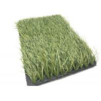 Olive Green Football Fake Grass Anti - Slip , Synthetic Grass For Soccer Fields
